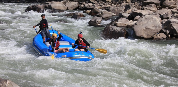 Nepal Trishuli River Rafting
